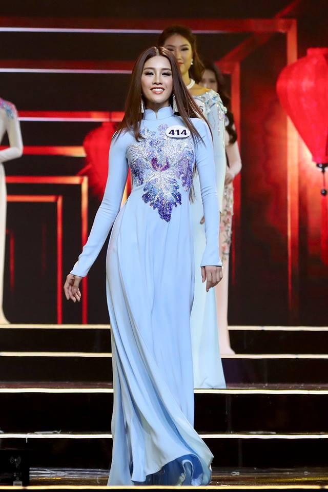 Áo dài đêm chung kết HHHV: Xem mà cứ ngỡ nhầm phải cuộc thi Hoa hậu nào năm xưa - Ảnh 8.