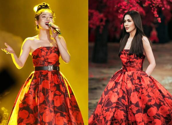 Diện lại váy cũ của Hà Tăng, Lệ Quyên vẫn xinh đẹp, sang trọng không tì vết - Ảnh 8.