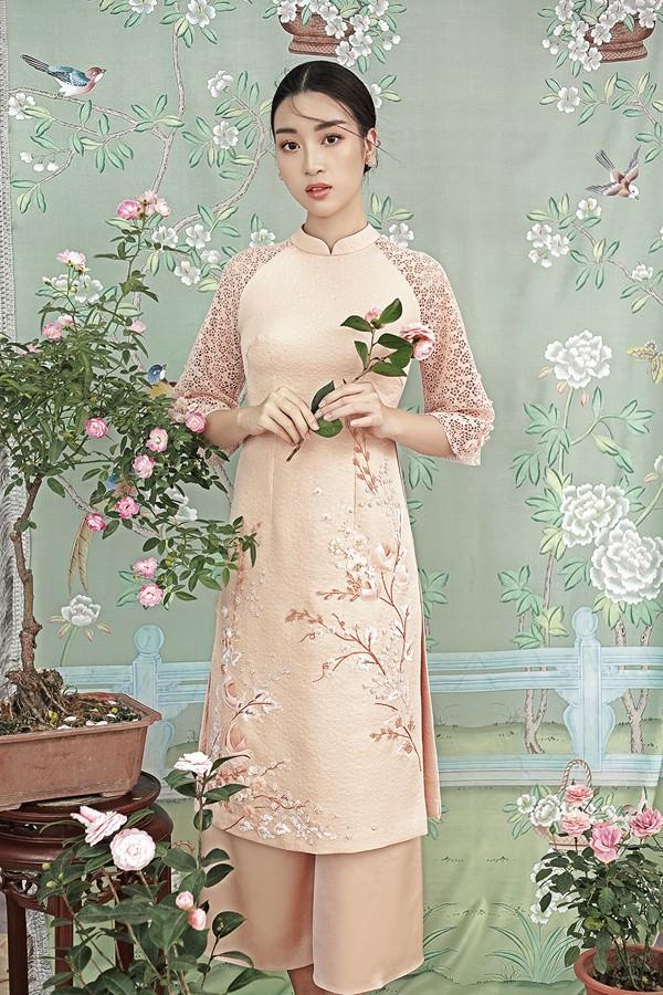 Đỗ Mỹ Linh gợi ý chọn áo dài cách tân mặc tết - Ảnh 8.