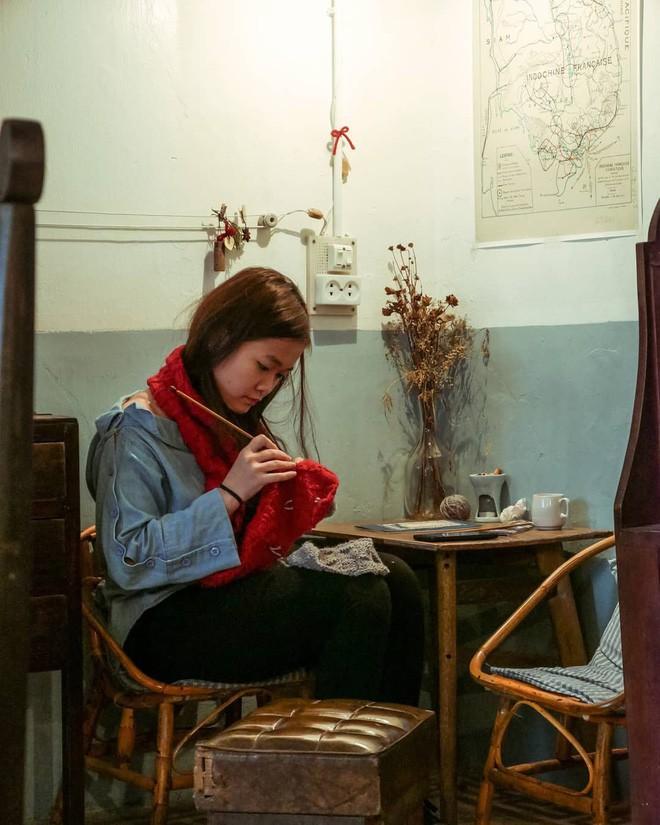 Tránh rét trong những ngày Hà Nội lạnh chết đi được ở 4 quán cafe rất xinh - Ảnh 9.