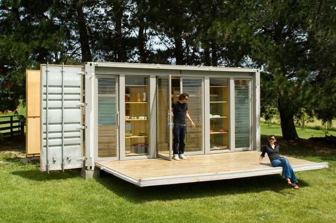 15 ngôi nhà độc đáo trên thế giới được tạo nên từ… container tái chế - Ảnh 9.