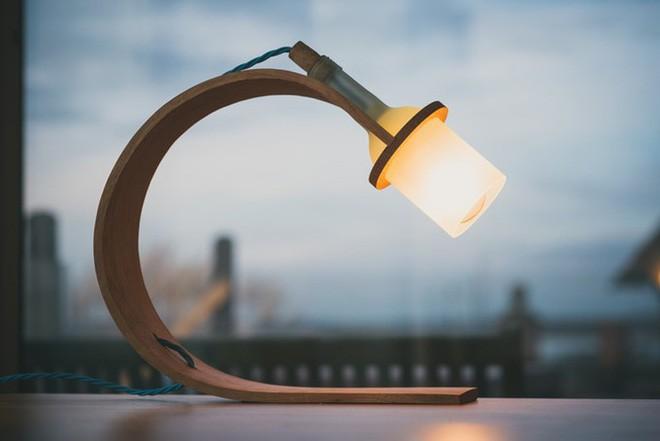 Đèn tái chế có thiết kế hiện đại tối giản đẹp như một cơn mơ - ảnh 9