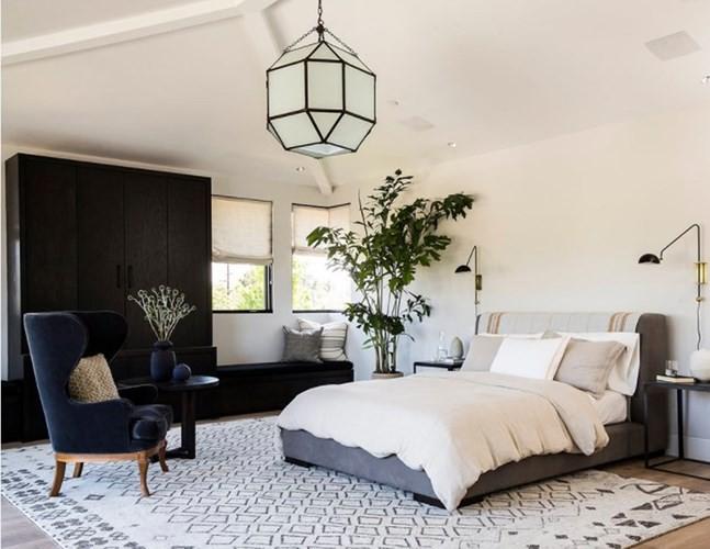 Những mẫu phòng ngủ hiện đại, thư giãn với cây cảnh - Ảnh 9.