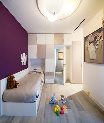 Ấn tượng với căn hộ kết hợp màu sắc trắng đen - Ảnh 9.