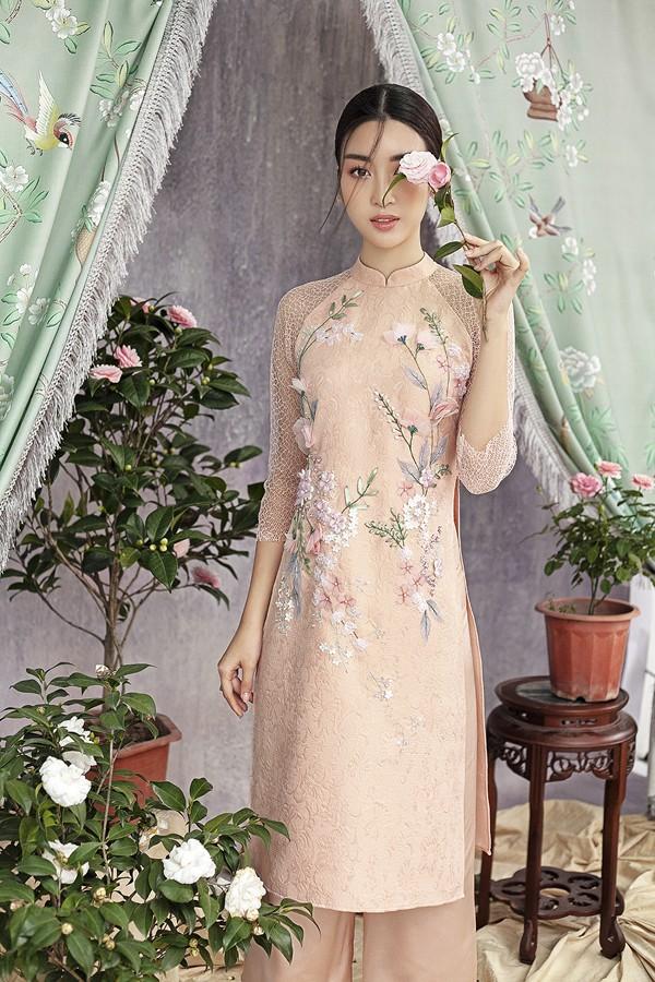 Đỗ Mỹ Linh gợi ý chọn áo dài cách tân mặc tết - Ảnh 10.