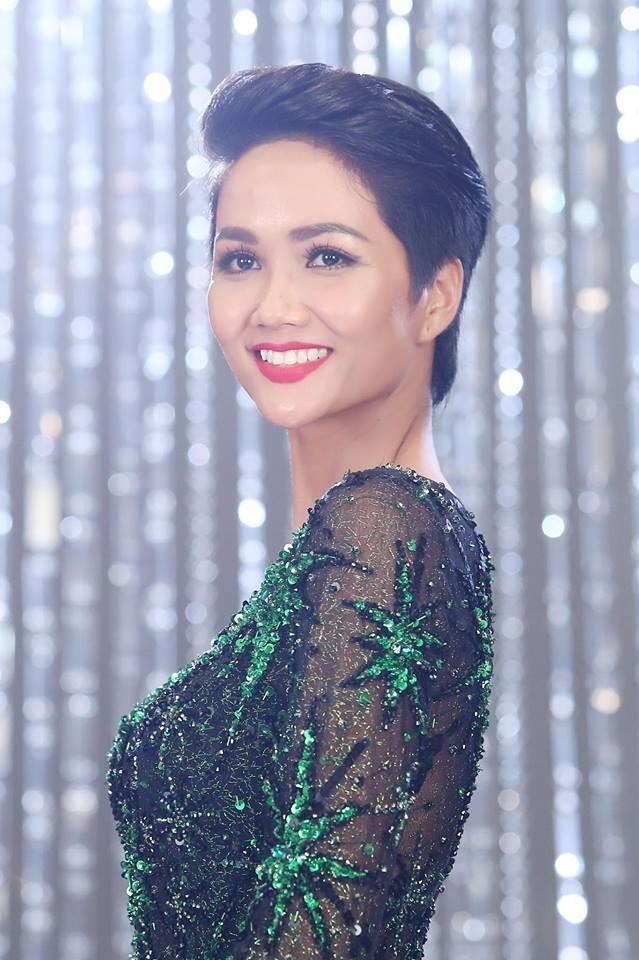 Tân Hoa hậu Hhen Nie nhìn thô cứng như rô bốt chỉ vì kiểu tóc phản chủ - Ảnh 6.