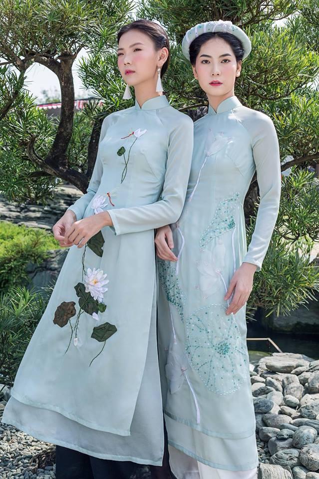 Còn đúng 1 tháng nữa là Tết, và đây là 7 mẫu áo dài cách tân đẹp duyên nhất cho nàng diện trong Tết này - Ảnh 10.