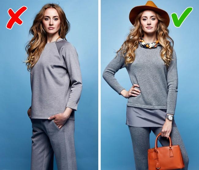 5 thói quen ăn mặc tuy an toàn nhưng có thể khiến chị em trở nên cũ kỹ, lỗi thời - Ảnh 3.