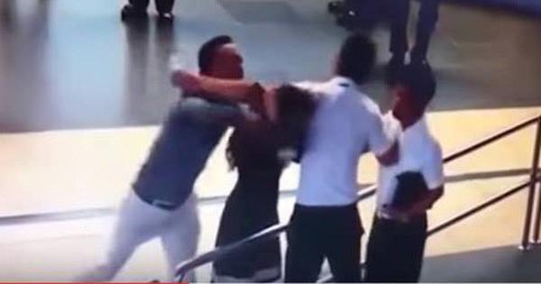 Nhân viên an ninh sân bay Nội Bài bị hành hung, đánh gãy 4 răng cửa - Ảnh 1.