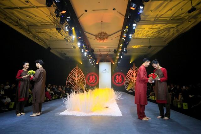 Thiện Phát Design tổ chức show thời trang giới thiệu BST Ban Mai mừng xuân 2019 - Ảnh 9.