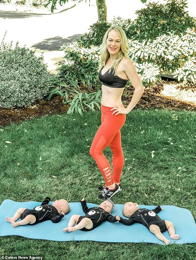 Mẹ sinh ba sở hữu thân hình như siêu mẫu sau sinh, nghe bí quyết ai cũng sửng sốt - Ảnh 1.
