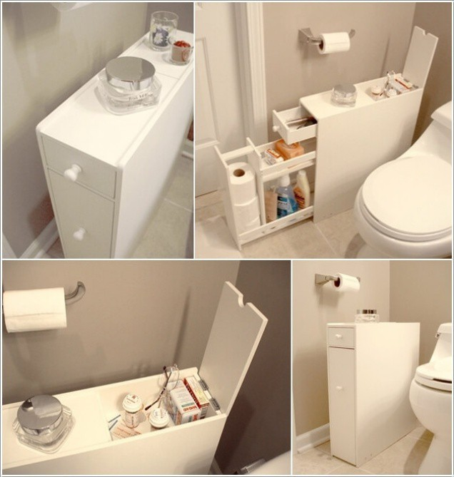 7 ý tưởng lưu trữ ẩn trong phòng tắm bạn không thể không biết để sở hữu phòng tắm rộng hơn diện tích thật - Ảnh 1.
