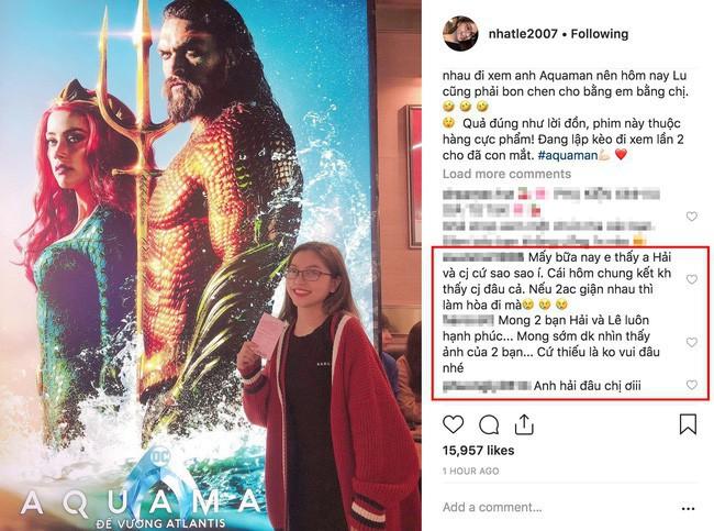 Nhật Lê lần đầu đăng story có mặt Quang Hải sau gần cả tháng lập Instagram mới - Ảnh 1.