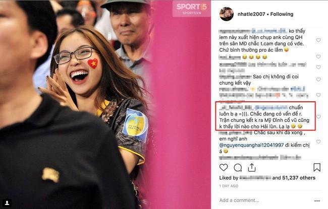 Nhật Lê lần đầu đăng story có mặt Quang Hải sau gần cả tháng lập Instagram mới - Ảnh 2.