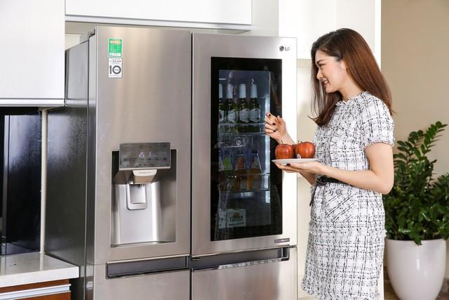 Đón Tết với căn bếp tiện dùng và sang trọng cùngcácdòng tủ lạnhthông minh - Ảnh 2.