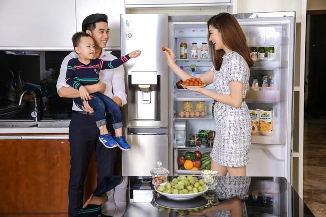 Đón Tết với căn bếp tiện dùng và sang trọng cùngcácdòng tủ lạnhthông minh - Ảnh 3.