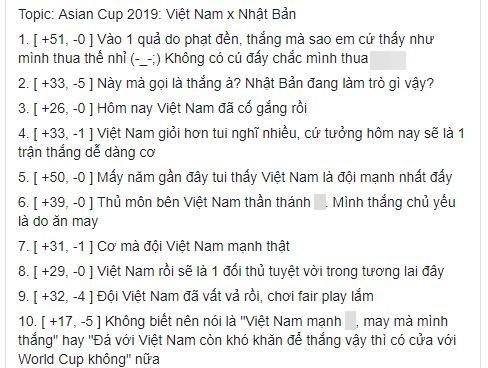 Dù giành chiến thắng nhưng CĐV Nhật Bản lại chẳng ăn mừng mà đồng loạt ca ngợi tuyển Việt Nam, đặc biệt là người này - Ảnh 2.
