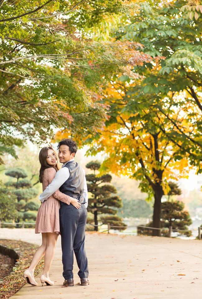 Trọn bộ ảnh cưới ngập tràn sắc vàng mùa thu Hàn Quốc của rapper Tiến Đạt và vợ mới cưới Thụy Vy - Ảnh 7.