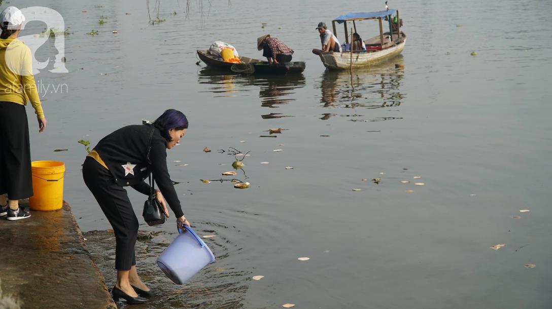 TP.HCM: Cá chép cúng ông Táo vừa thả xuống sông chưa kịp về trời đã bị chích điện, vớt lên bán lại - Ảnh 9.