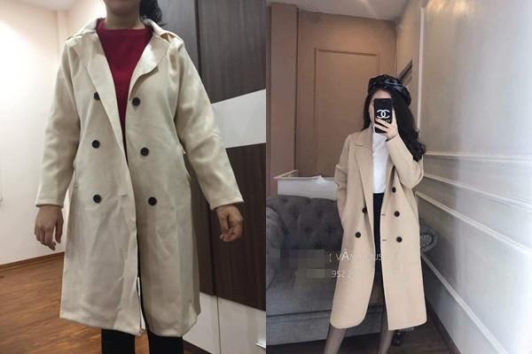 Xinh như vợ hoa khôi của Quế Ngọc Hải cũng bị hại khi mua hàng online, tưởng có áo khoác đẹp diện Tết ai ngờ... - Ảnh 1.