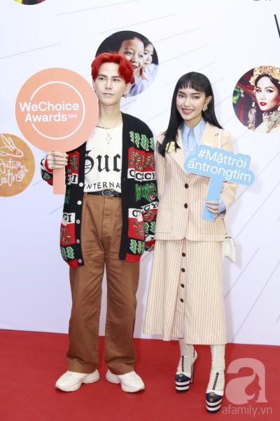 HHen Niê xinh đẹp, Hoàng Thùy chiếm spotlight của hàng loạt mỹ nhân khi diện áo lông bất chấp thời tiết trên thảm đỏ Wechoice - Ảnh 12.