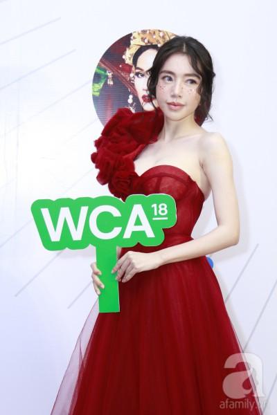 HHen Niê xinh đẹp, Hoàng Thùy chiếm spotlight của hàng loạt mỹ nhân khi diện áo lông bất chấp thời tiết trên thảm đỏ Wechoice - Ảnh 11.
