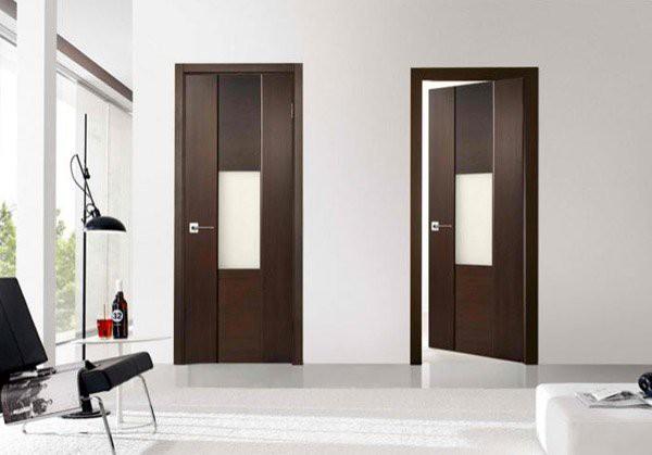 15 mẫu thiết kế cửa gỗ hiện đại, sang chảnh dành cho những không gian muốn làm mới trong dịp Tết - Ảnh 1.