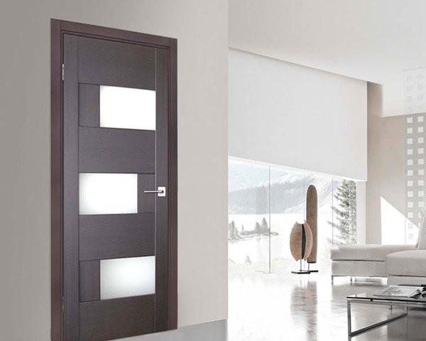 15 mẫu thiết kế cửa gỗ hiện đại, sang chảnh dành cho những không gian muốn làm mới trong dịp Tết - Ảnh 15.