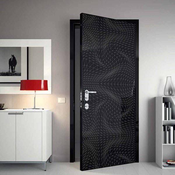 15 mẫu thiết kế cửa gỗ hiện đại, sang chảnh dành cho những không gian muốn làm mới trong dịp Tết - Ảnh 2.