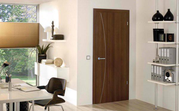 15 mẫu thiết kế cửa gỗ hiện đại, sang chảnh dành cho những không gian muốn làm mới trong dịp Tết - Ảnh 4.