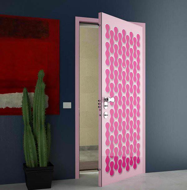 15 mẫu thiết kế cửa gỗ hiện đại, sang chảnh dành cho những không gian muốn làm mới trong dịp Tết - Ảnh 6.