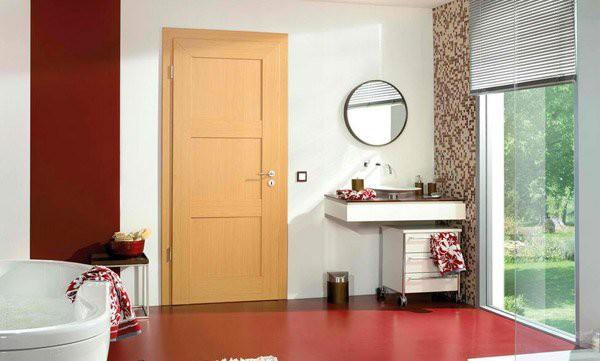 15 mẫu thiết kế cửa gỗ hiện đại, sang chảnh dành cho những không gian muốn làm mới trong dịp Tết - Ảnh 9.