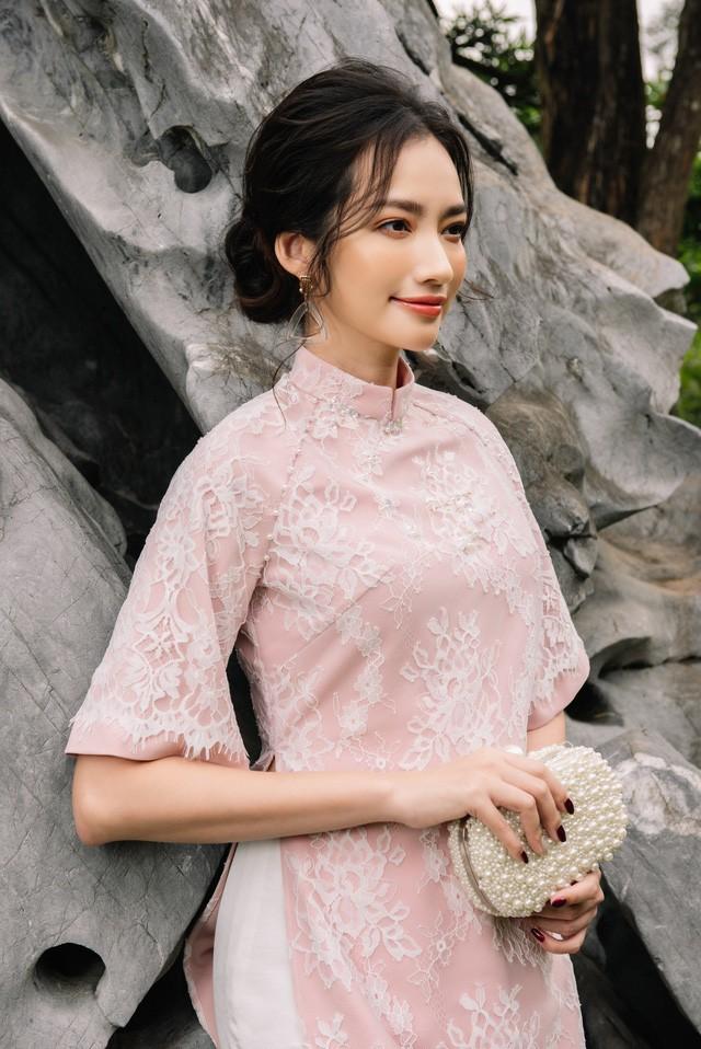Hoa Hậu Trúc Diễm yêu kiều trong Bộ sưu tập áo dài của NEVA - Ảnh 11.