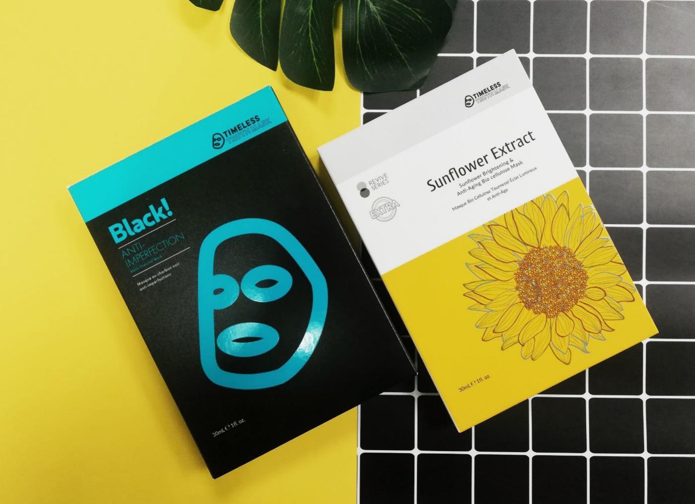 Da sạch mụn, sáng khỏe với mặt nạ Timeless Truth Mask - Ảnh 1.