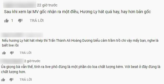 """Giữa """"tâm bão"""" bị chê hát dở, dân mạng """"đào"""" lại clip Hương Ly hát live từng được Trấn Thành khen nức nở - Ảnh 5."""