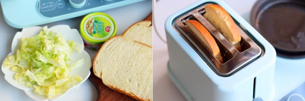 3 bước đơn giản làm bánh mì kẹp 2 kiểu, ăn sáng hay trưa đều ngon tuyệt! - Ảnh 2.