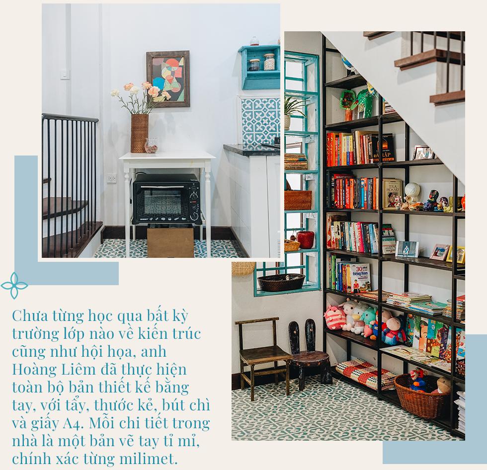 Ngôi nhà 48m² phong cách Địa Trung Hải tự tay làm… gần hết với tổng chi phí nội thất chỉ 70 triệu đồng của cặp vợ chồng 8x ở Hà Nội - Ảnh 5.