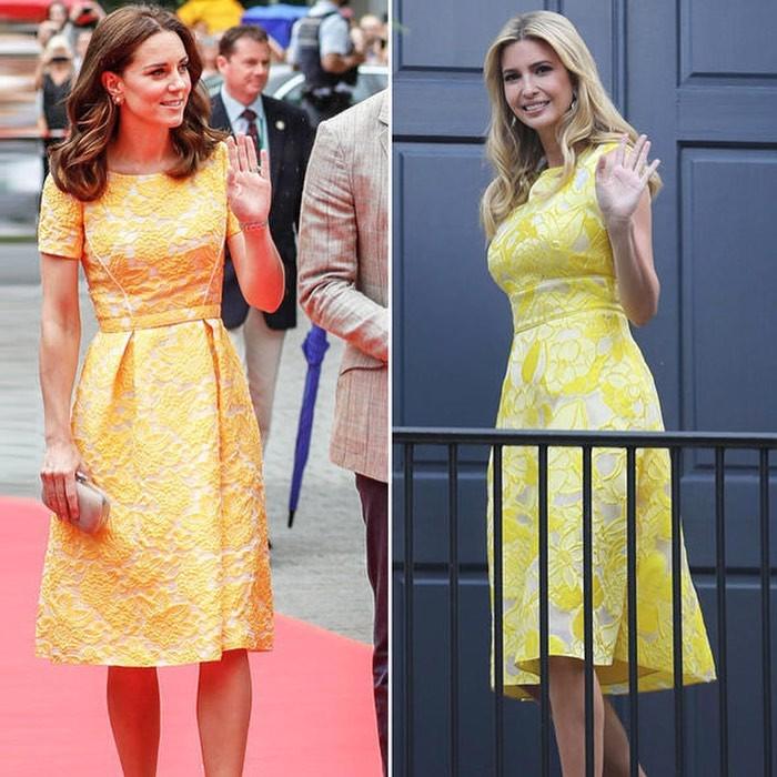 """""""Đánh bại"""" Meghan Markle nhưng con gái tổng thống Trump vẫn """"thua đẹp"""" trước công nương Kate khi cùng diện đồ hao hao - Ảnh 6."""