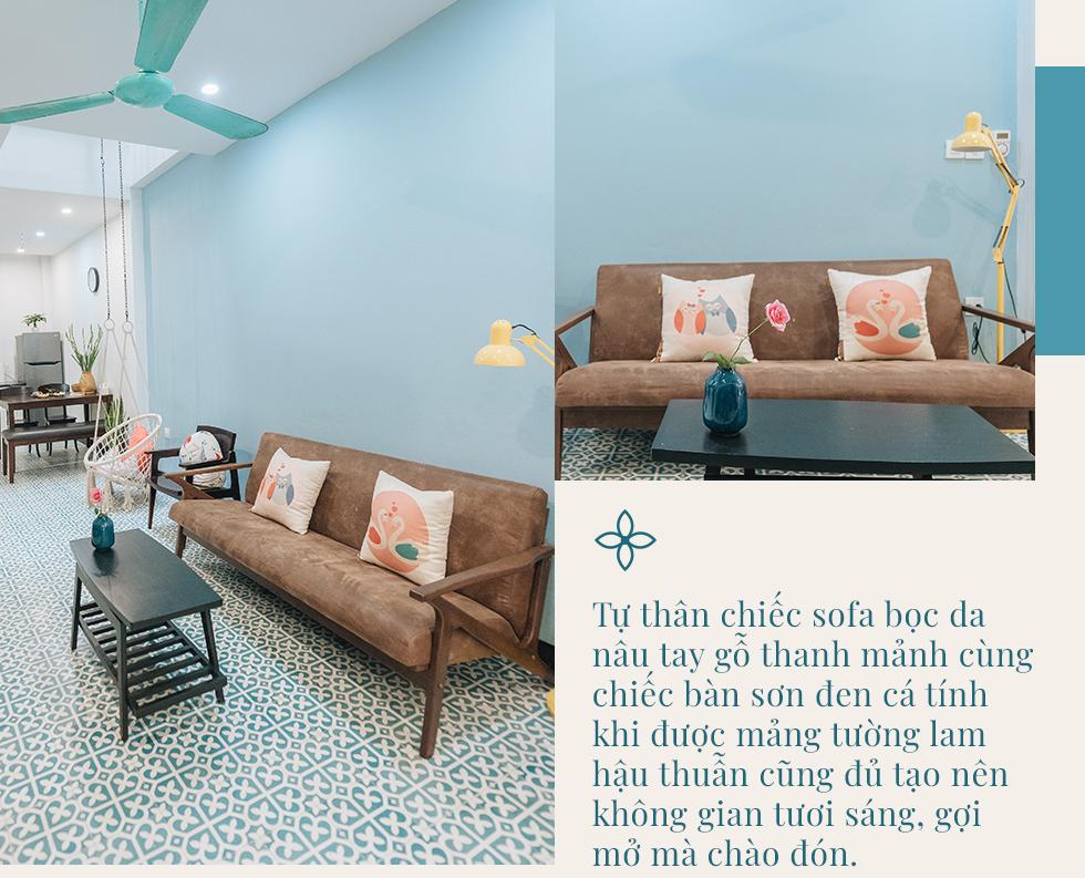 Ngôi nhà 48m² phong cách Địa Trung Hải tự tay làm… gần hết với tổng chi phí nội thất chỉ 70 triệu đồng của cặp vợ chồng 8x ở Hà Nội - Ảnh 9.