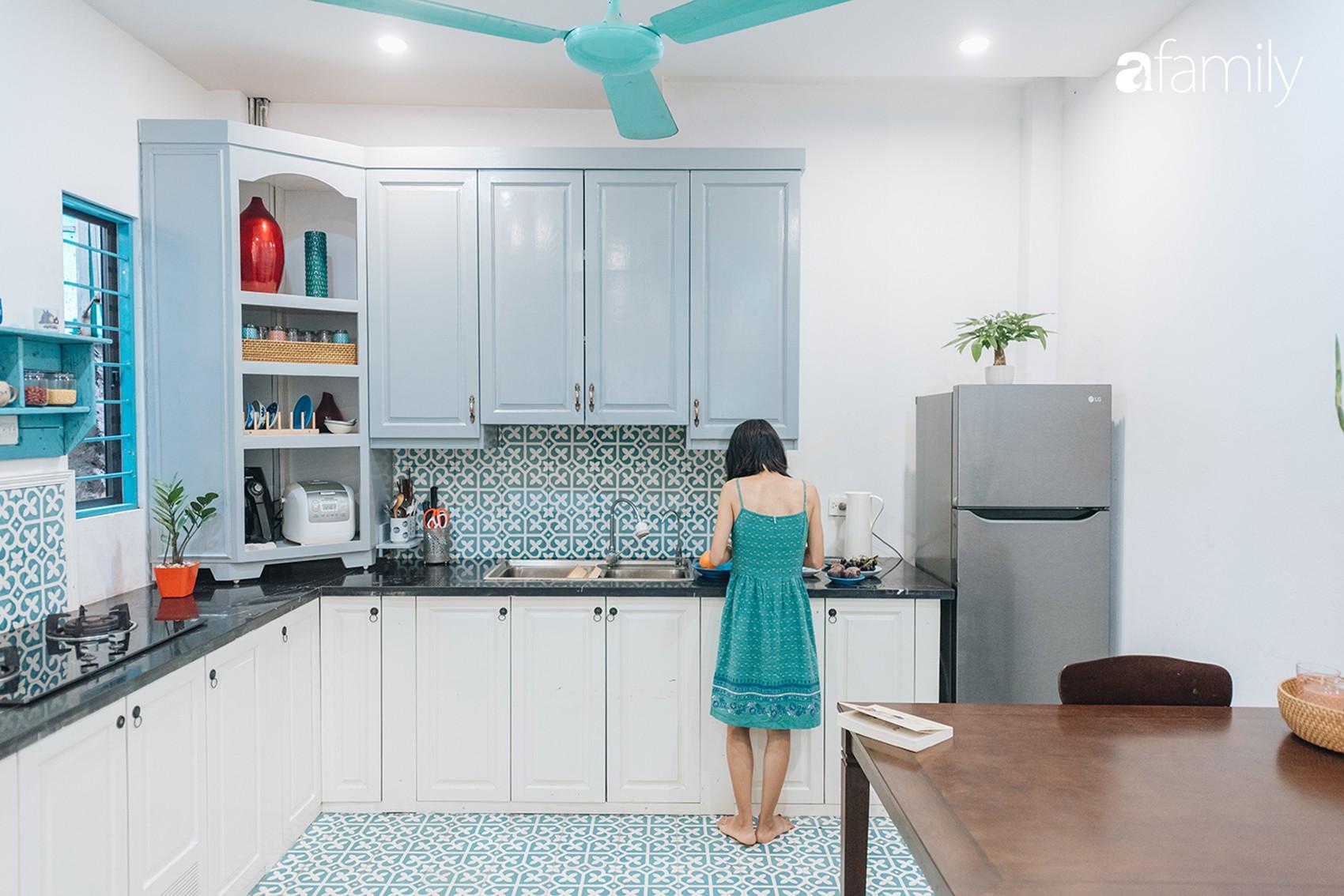 Ngôi nhà 48m² phong cách Địa Trung Hải tự tay làm… gần hết với tổng chi phí nội thất chỉ 70 triệu đồng của cặp vợ chồng 8x ở Hà Nội - Ảnh 8.