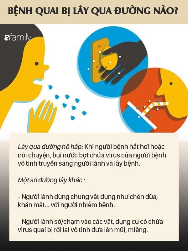 Những biến chứng bệnh quai bị có thể gặp ở trẻ: Cha mẹ cần nắm được những biện pháp phòng ngừa quai bị để tránh điều đáng tiếc xảy ra - Ảnh 2.