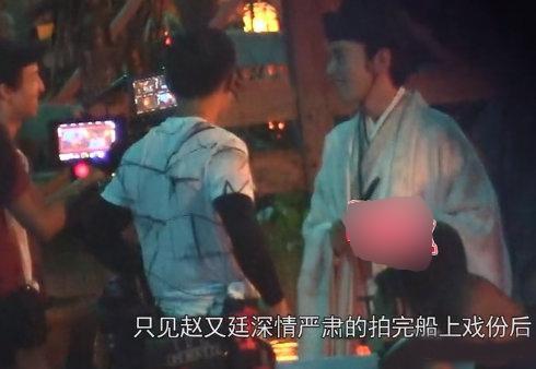 """Cao Viên Viên đưa con gái tới phim trường thăm ông xã """"Dạ Hoa"""" Triệu Hựu Đình - Ảnh 6."""