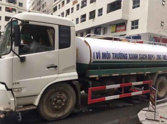 Nguyên nhân nước cấp cho HH Linh Đàm tanh, đục do xe không đảm bảo vệ sinh - Ảnh 1.
