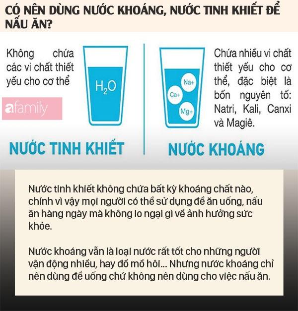 """Hà Nội """"khủng hoảng"""" nước sạch nhưng dùng nước khoáng, nước tinh khiết để nấu ăn có thực sự tốt không? - Ảnh 3."""