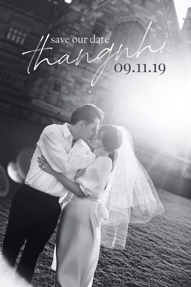 Cận cảnh thiệp cưới đẹp như mơ của cặp đôi Đông Nhi - Ông Cao Thắng - Ảnh 5.