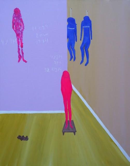 Kim Noble: Nữ họa sĩ có hơn 100 bản ngã và những tác phẩm nghệ thuật ẩn dụ đầy bí ẩn về quá khứ đau thương - Ảnh 14.