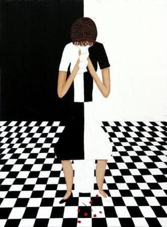 Kim Noble: Nữ họa sĩ có hơn 100 bản ngã và những tác phẩm nghệ thuật ẩn dụ đầy bí ẩn về quá khứ đau thương - Ảnh 11.