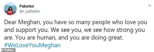 Meghan Markle bất ngờ được gần 100.000 người lên tiếng ủng hộ sau hình ảnh rơm rớm nước mắt trên truyền hình nhưng anti-fan cũng nhiều lên vô kể - Ảnh 3.