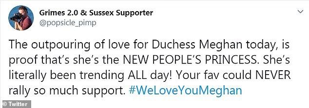 Meghan Markle bất ngờ được gần 100.000 người lên tiếng ủng hộ sau hình ảnh rơm rớm nước mắt trên truyền hình nhưng anti-fan cũng nhiều lên vô kể - Ảnh 5.