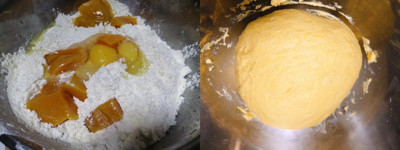 Bánh bí đỏ mềm ngọt dễ làm chẳng cần lò nướng - Ảnh 1.